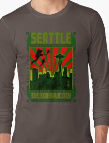 SEATTLE - THE EMERALD CITY Long Sleeve T-Shirt