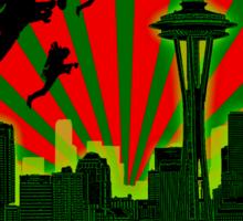 SEATTLE - THE EMERALD CITY Sticker