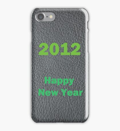 2012 Happy New Year iPhone Case/Skin