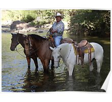 Rancher and guide - Ranchero y guia de turistas Poster
