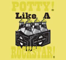 potty like a rockstar Kids Clothes