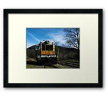 Object of Travel Framed Print