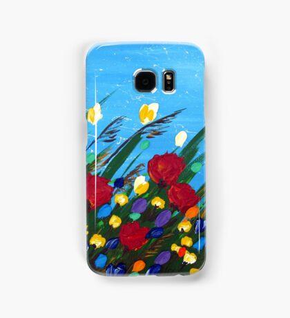 Wildflowers Dancing Samsung Galaxy Case/Skin