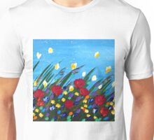 Wildflowers Dancing Unisex T-Shirt