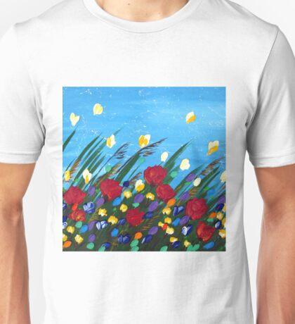 Wildflowers Dancing Unisex T-Shirt