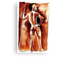 The Spartan Canvas Print