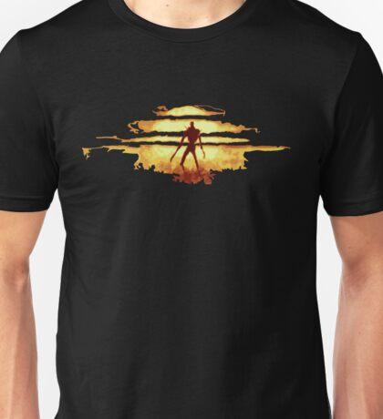 Giant God Warrior - Silhouette Unisex T-Shirt