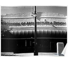 NEW SCHOOL OF ARCHITECTURE & DESIGN Poster