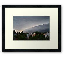 Storm on the Horizon, Orlando, FL. Framed Print