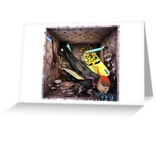 "Ecce Homo 114 "" ICARUS III "" Greeting Card"