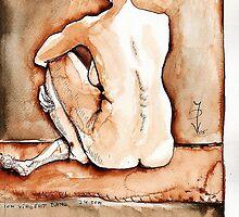 Sitting Joelle camaieu by ivDAnu