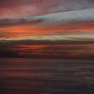 Bay of Banderas after sunset - Bahia de Banderas despues de la puesta del sol by Bernhard Matejka