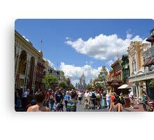 Main St. Magic Kingdom, Walt Disney World Canvas Print