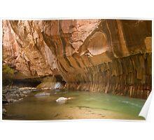 Zion Narrows Slot Canyon Poster