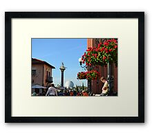 Italy, Epcot Framed Print