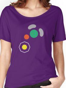 Gamecube Controller Button Symbol Women's Relaxed Fit T-Shirt