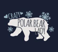 Crazy Polar Bear Lady by jazzydevil