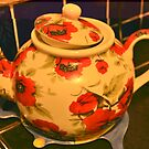 Floral teapot by mikeloughlin