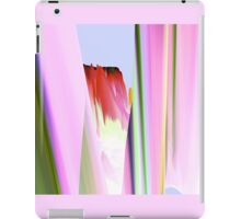Charming  red with pink bud iPad Case/Skin
