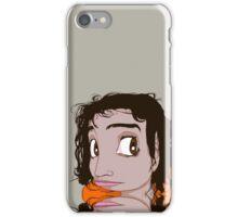pretty girl iPhone Case/Skin
