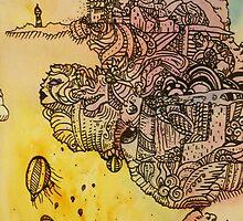 Of Mermaids and Dragons by AmandaBush