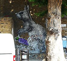 Street art in London by Sherion