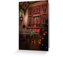 Silent night - Christmas card Greeting Card