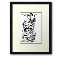 Empress In Her Memories Framed Print