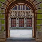 Birmingham University Door by RJE58