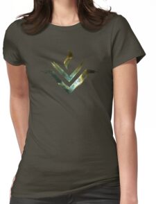 Vesta Asteroid Symbol - Universe Edition Womens Fitted T-Shirt