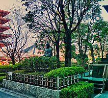 Asakusa, Tokyo, Japan by Abtin Eshraghi