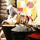 egyptian market by kennypepermans