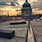 A View Over St. Paul's by Abtin Eshraghi