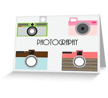 Sweetest Cameras Greeting Card