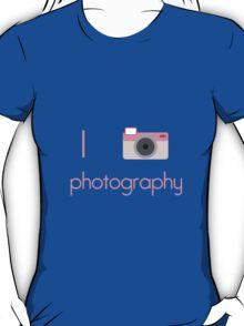 I Heart Photography T-Shirt