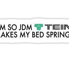 JDM Bed Springs Sticker