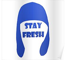 Splatoon - Stay Fresh (blue) Poster