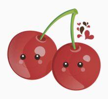Kawaii Cherries Baby Tee
