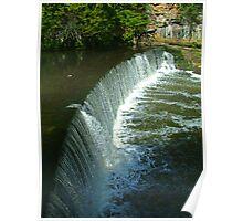 River Almond Weir Poster