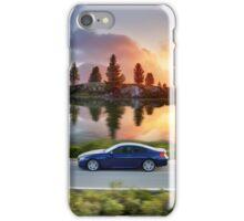 High speed car in Autumn iPhone Case/Skin