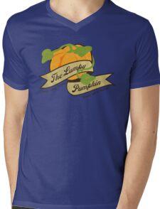 The Lumpy Pumpkin Mens V-Neck T-Shirt