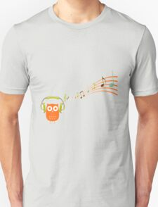 Owl be listening to music! Unisex T-Shirt