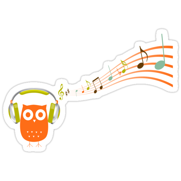 Owl be listening to music! by sweettoothliz