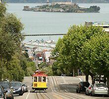 Tram Car - San Francisco by Rob Chiarolli