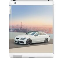 Sports car in Paris iPad Case/Skin