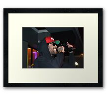 Jigz, Whats Good Launch Party Framed Print