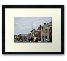 The Calvin Theatre, Northampton, MA. Framed Print