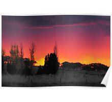 sunset dazzle Poster