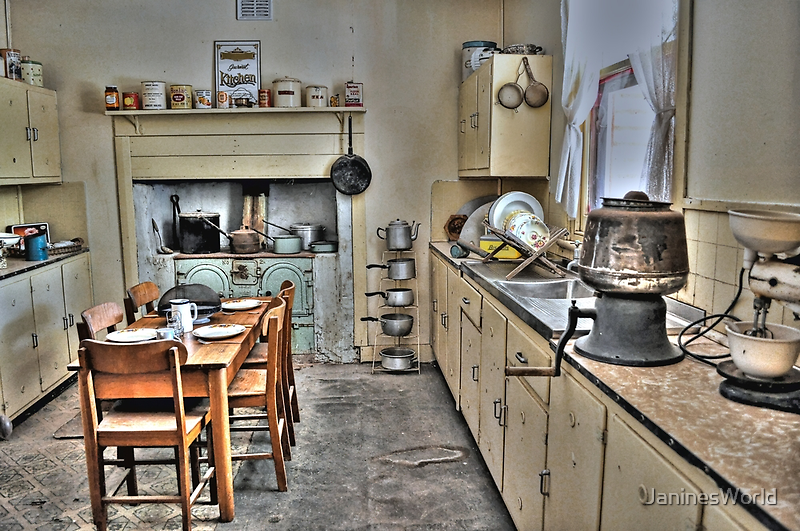 1930's Kitchen by JaninesWorld