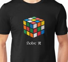 Rubik's Cube: Solve It Unisex T-Shirt